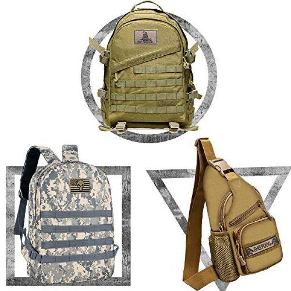 Bonng Airsoft Morale Patch 3 Bundle 14 Packs USA Flag Patches Thin Blue Line Tactical Military Morale Velcro Patch Set Morale Patches Set for Caps,Bags,Backpacks,Tactical Vest,Military Uniforms (color2)