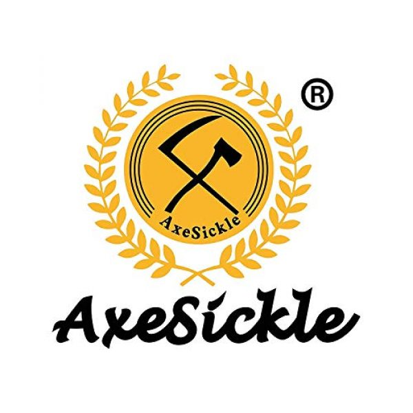 Axe Sickle Airsoft Morale Patch 6 AxeSickle 2x3 Inch Don't Tread on me Embroidered Patch American Flag Patch Tactical Military Morale Patch 4 Pcs.