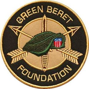 Embroidery Patch Airsoft Morale Patch 1 Green Berets Military Hook Loop Tactics Morale Embroidered Patch