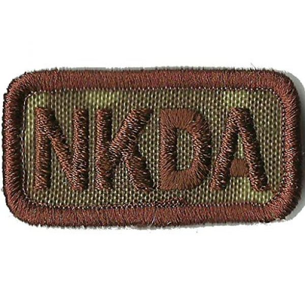 """Gadsden and Culpeper Airsoft Morale Patch 1 NKDA Tactical Patch 2""""x1"""" -""""No Known Drug Allergy"""""""
