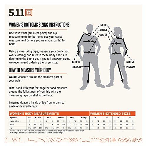5.11 Tactical Pant 5 5.11 Tactical Women's Triple-Stitching TDU Ripstop Uniform Operator Pants, Style 64359