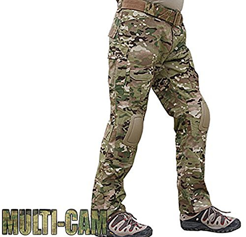 ATAIRSOFT Tactical Pant 4 ATAIRSOFT Tactical Military Emerson BDU Hunting Gen2 G2 Men Combat Pants with Knee Pads Multicam(S-30W)