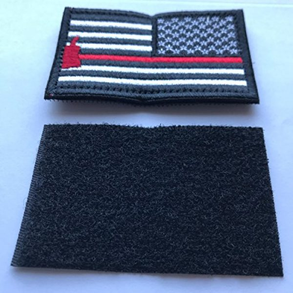 Backwoods Barnaby Airsoft Morale Patch 2 Backwoods Barnaby American Flag Reverse USA Morale Patch (Right Shoulder)