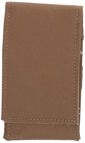 VooDoo Tactical Tactical Pouch 1 VooDoo Tactical 20-1220007000 Cell Phone Pouch, Coyote, Small