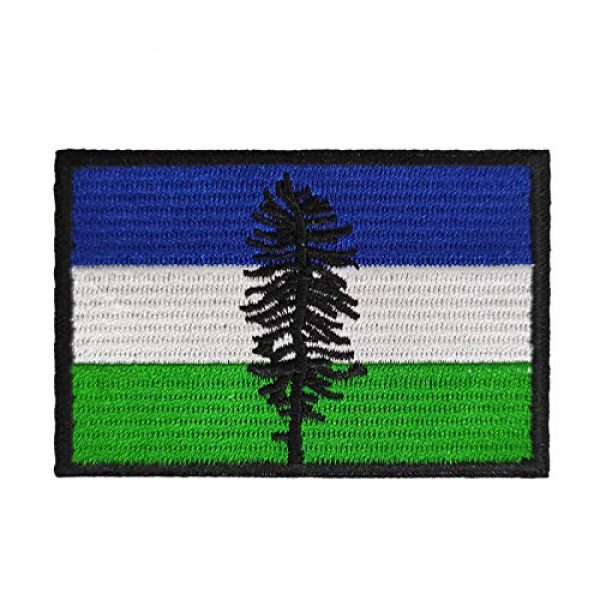 Cute-Patch Airsoft Morale Patch 1 Cascadia The Doug Flag Cascadian Embroidered Iron On Sew On Patch Badge