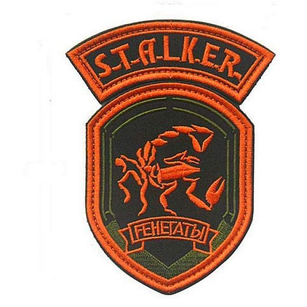 Embroidery Patch Airsoft Morale Patch 1 2 Pieces Stalker S.T.A.L.K.E.R. Factions Renegades Shadow of Chernobyl Military Hook Loop Tactics Morale Embroidered Patch