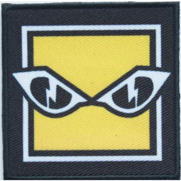 Tactical Embroidery Patch Airsoft Morale Patch 1 Rainbow Six Operator IQ Embroidery Patch Military Tactical Morale Patch Badges Emblem Applique Hook Patches for Clothes Backpack Accessories