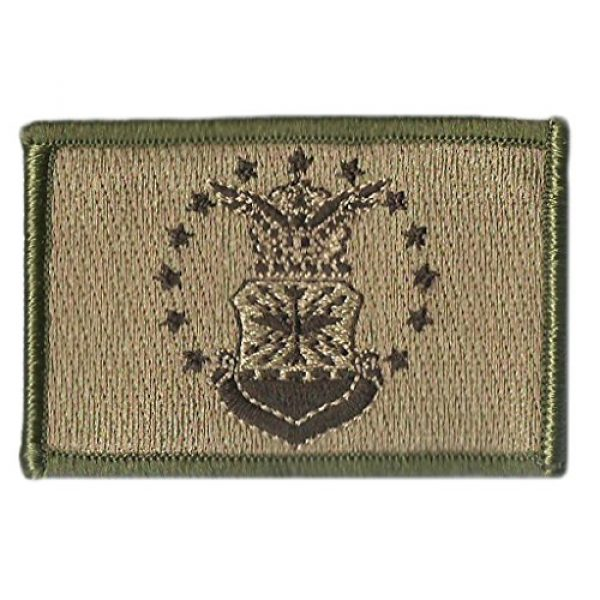 Gadsden and Culpeper Airsoft Morale Patch 2 Air Force Flag Tactical Patch - Military