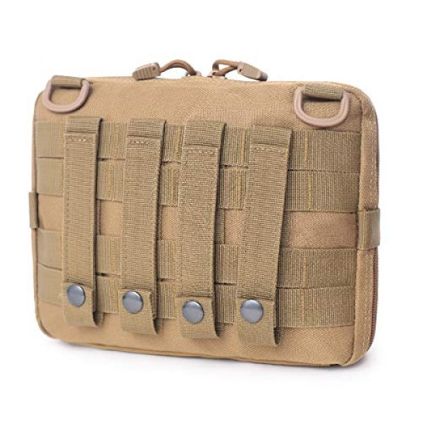 TRIWONDER Tactical Pouch 3 TRIWONDER Tactical Admin Molle Pouch Compact Utility Gadget Gear Tool Bag EDC Pouch Military EMT Organizer