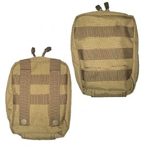 Condor Tactical Pouch 1 Condor Outdoor Tactical EMT First Aid Pouch, MOLLE Compatible- Coyote Tan