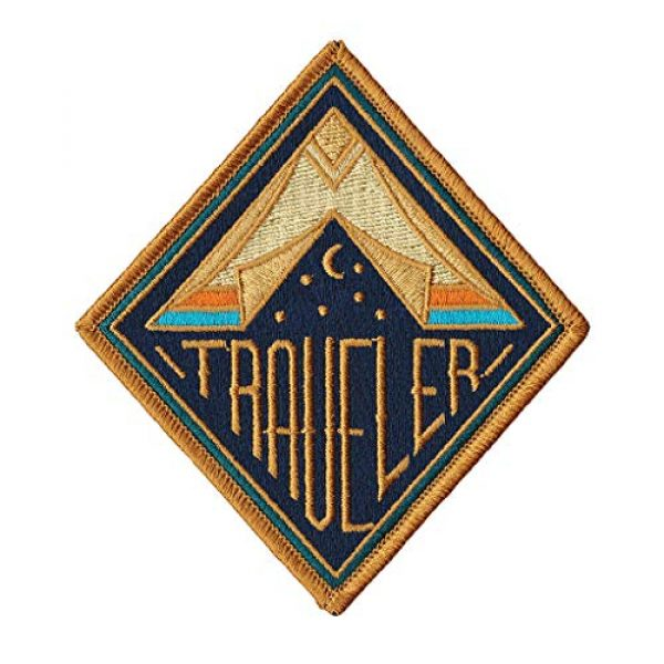 Asilda Airsoft Morale Patch 1 Asilda Embroidered Sew or Iron-on Patch (Traveler)