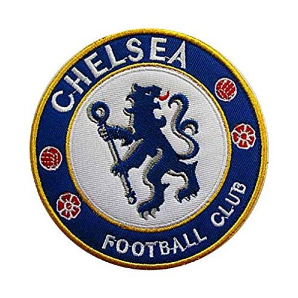 Embroidery Patch Airsoft Morale Patch 2 England Soccer Team Chelsea Soccer Football Club Military Hook Loop Tactics Morale Embroidered Patch