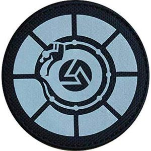 """Embroidery Patch Airsoft Morale Patch 1 SCP Foundation Special Containment Procedures Foundation SCP Mobile Task Forces Tau-5 Samsara"""" Military Hook Loop Tactics Morale Reflective Patch"""