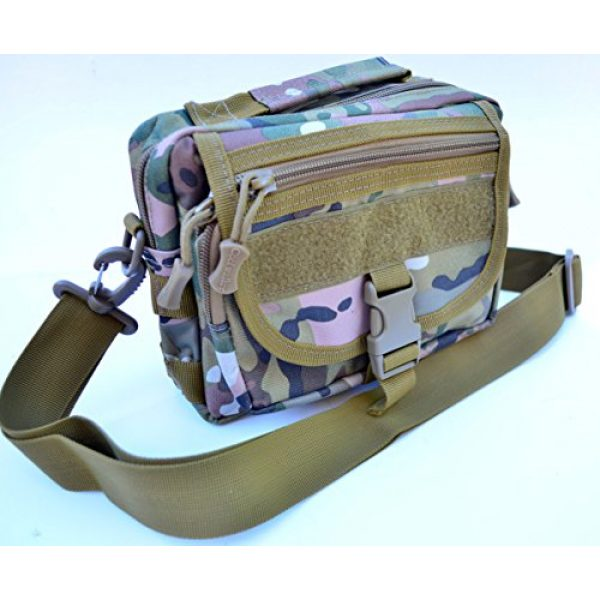 Acid Tactical Tactical Pouch 1 Acid Tactical MOLLE First Aid Bag Pouch Trauma Multicam Multi camo EMT Medic Utility