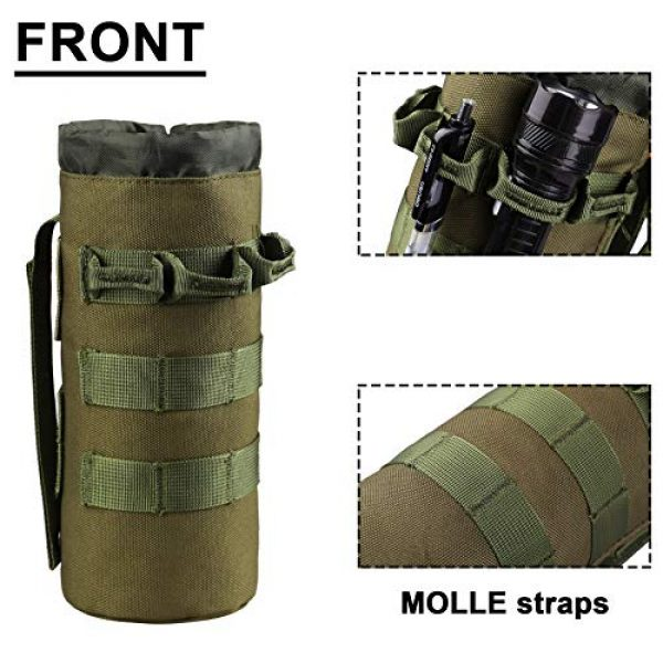 AMYIPO Tactical Pouch 3 AMYIPO Tactical MOLLE Water Bottle Pouch