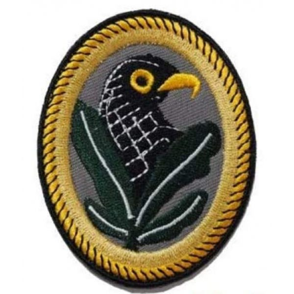 Tactical Embroidery Patch Airsoft Morale Patch 1 WW2 German Sniper Badge 2ND Class Embroidery Patch Military Tactical Morale Patch Badges Emblem Applique Hook Patches for Clothes Backpack Accessories