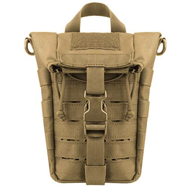 AMYIPO Tactical Pouch 2 AMYIPO Water Bottle Pouch Molle Tactical Holder Storage Bag
