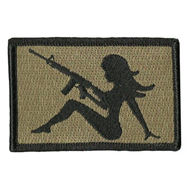 """Gadsden and Culpeper Airsoft Morale Patch 1 AR-15 Trucker Girl Tactical Morale Patch - 2""""x3"""""""