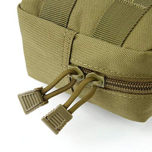 anyilon Tactical Pouch 7 anyilon Multifunction Tactical Molle Pouch Zipper Closure Large Waist Pack Outdoor Backpack Attachment Camping Hiking Pouch