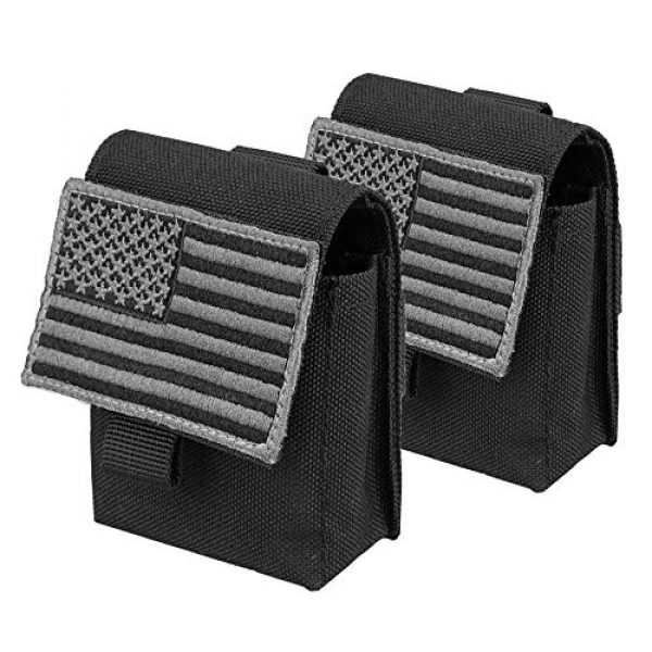 AMYIPO Tactical Pouch 1 AMYIPO Multi-Purpose Compact Waist Bags Small Utility Pouch Military Molle Pouch Tactical Sundries Storage Bag