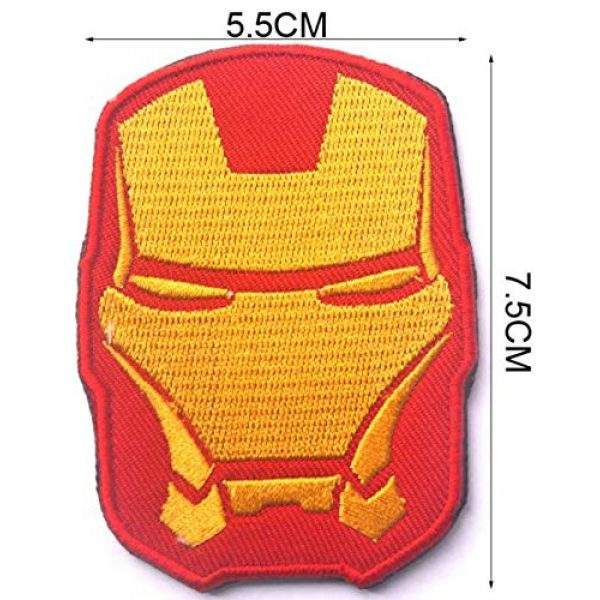 Embroidered Patch Airsoft Morale Patch 3 9pc Marvel Avengers Super Hero 3D Tactical Patch Military Embroidered Morale Tags Badge Embroidered Patch DIY Applique Shoulder Patch Embroidery Gift Patch
