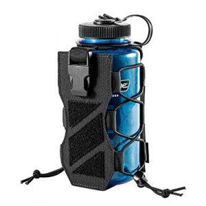 OneTigris Tactical Pouch 1 OneTigris HUNTERZ Water Bottle Holster, Adjustable 10 to 32oz Hydration Flasks Holder Carrier for Hydro Flask & Nalgene & Contigo Bottle