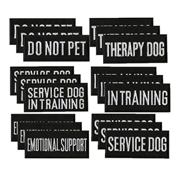 As Show Airsoft Morale Patch 1 Patch - Patches for Harnesss Vest Service Dog - Embroidered Morale Patches Tactical Funny for Hat, Backpack, Jackets