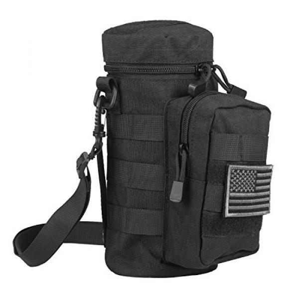 AMYIPO Tactical Pouch 1 AMYIPO Tactical MOLLE Water Bottle Pouch Holder Storage Bag for 32oz Carrier