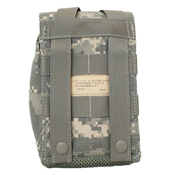 Army Tactical Pouch 2 Eagle Industries 1 Liter Canteen Cover with PVS-14 Protective Insert ACU