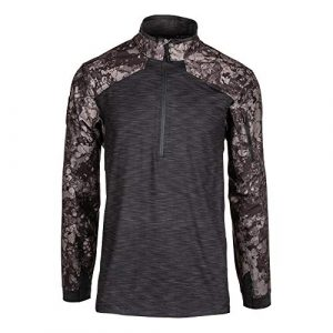 5.11 Tactical Shirt 1 5.11 Tactical Men's GEO7 Advanced Conceal Camo Rapid Half-Zip Camo Tactile Sweatshirt, Style 72415G7