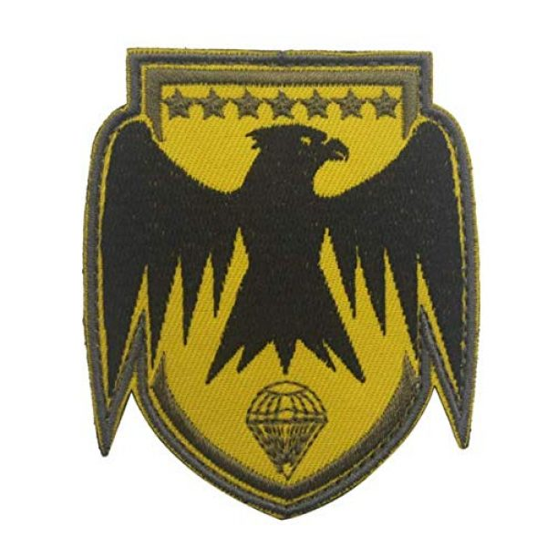 Tactical Embroidery Patch Airsoft Morale Patch 1 France Embroidery Patch Military Tactical Morale Patch Badges Emblem Applique Hook Patches for Clothes Backpack Accessories