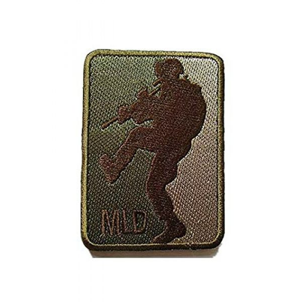 Embroidery Patch Airsoft Morale Patch 1 MLD Major League Door Kicker Military Hook Loop Tactics Morale Embroidered Patch (color4)