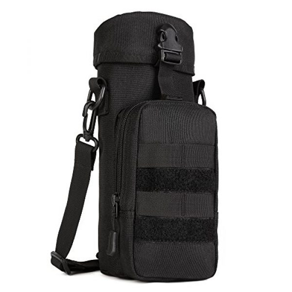 ArcEnCiel Tactical Pouch 1 ArcEnCiel Molle Water Bottle Pouch Tactical Military Kettle Set Holder Hydration Bag Carrier Pocket for Camping Climbing Cycling Hiking Travelling