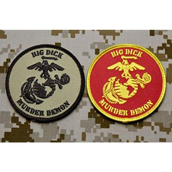 BritKitUSA Airsoft Morale Patch 1 BritKitUSA USMC Big Dick Murder Demon DTOM MARPAT Marine Corps Semper Fi Morale Patch Set