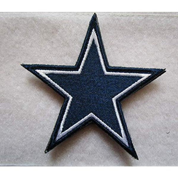 Embroidered Patch Airsoft Morale Patch 1 D-allas Cowboys Fan 3D Tactical Patch Military Embroidered Morale Tags Badge Embroidered Patch DIY Applique Shoulder Patch Embroidery Gift Patch