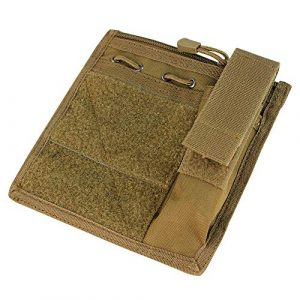 Condor Tactical Pouch 2 Condor MA30 Admin Pouch w/ Flashlight pouch - Coyote Brown