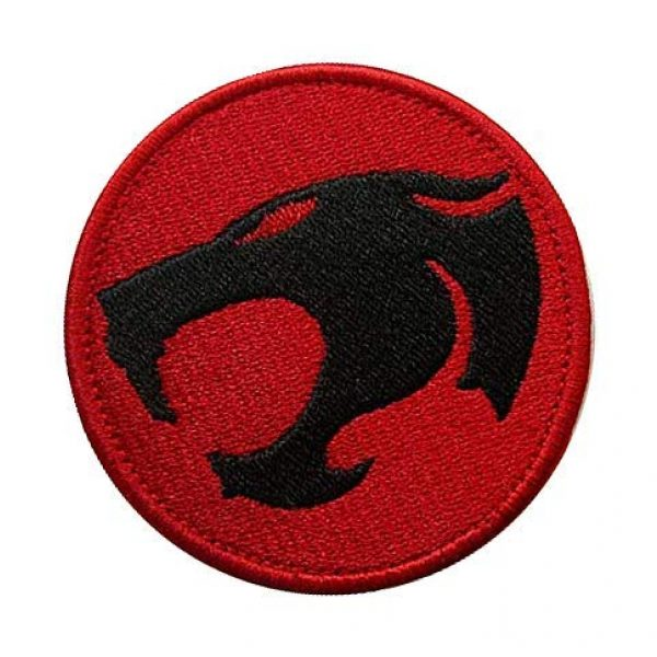 Embroidery Patch Airsoft Morale Patch 2 Thunder Cats Military Hook Loop Tactics Morale Embroidered Patch