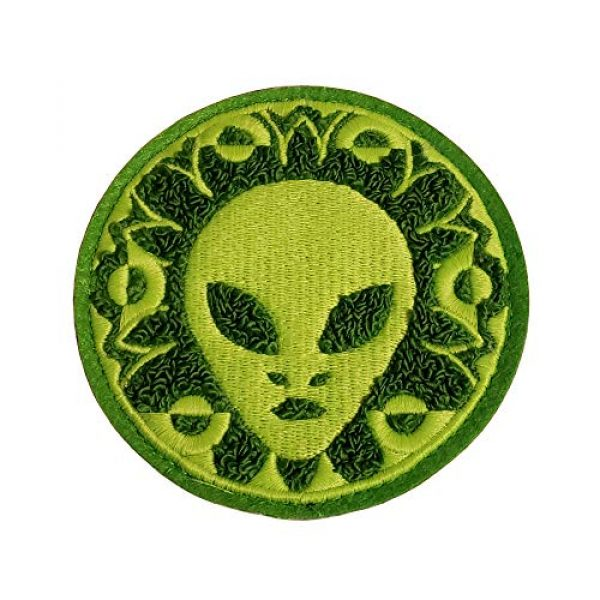 Check Six Patch Works Airsoft Morale Patch 1 Crop Circle Morale Patch
