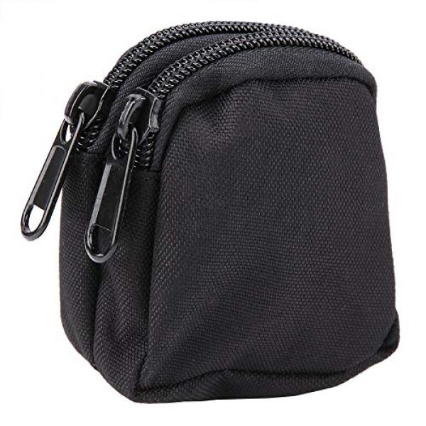 Alomejor Tactical Pouch 7 Alomejor Tactical Hanging Bag Sports Mini Waterproof Nylon Waterproof Waist Bag Outdoor Portable Storage Pouch