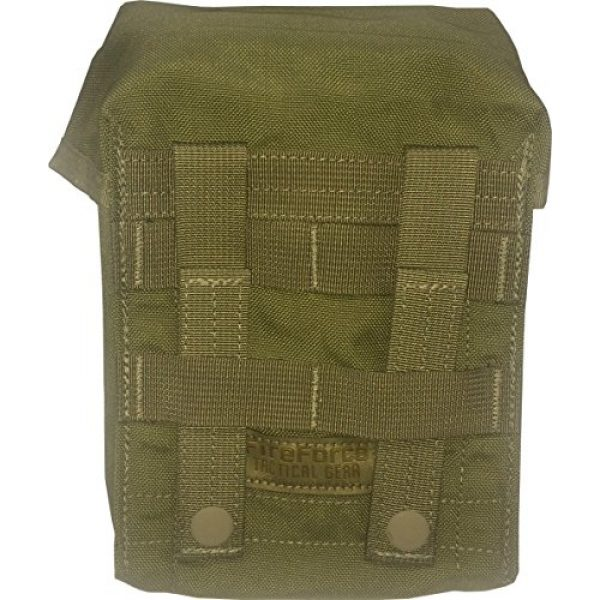 Fire Force Tactical Pouch 2 Fire Force MOLLE IFAK Medical Pouch Made in USA