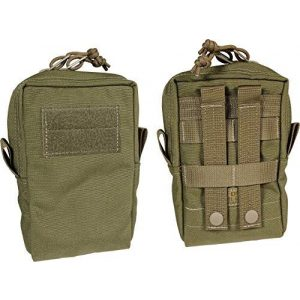 Fire Force Tactical Pouch 1 Fire Force Item #8927 Vertical Utility Pouch with Lining Made in USA