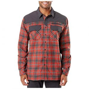 5.11 Tactical Shirt 1 5.11 Tactical Men's Endeavor Flannel Shirt, RAPIDraw Placket, Abrasion Resistance, Style 72468
