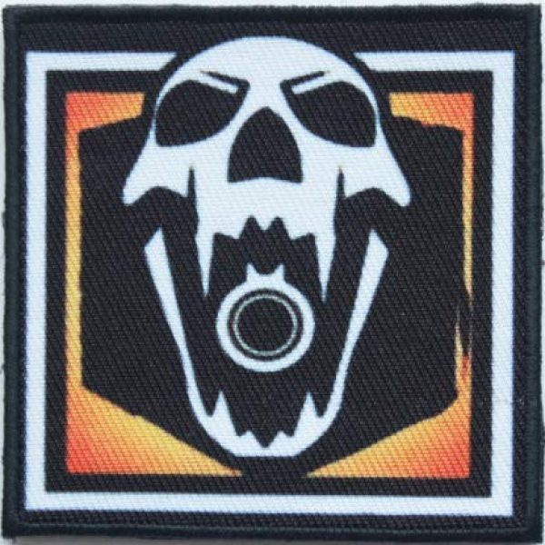 Tactical Embroidery Patch Airsoft Morale Patch 1 Rainbow Six Operator Blackbeard Embroidery Patch Military Tactical Morale Patch Badges Emblem Applique Hook Patches for Clothes Backpack Accessories