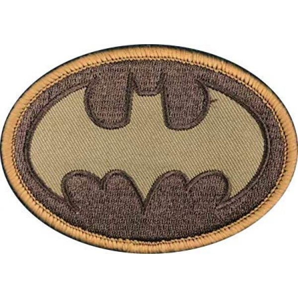 Embroidery Patch Airsoft Morale Patch 1 Batman Military Hook Loop Tactics Morale Embroidered Patch