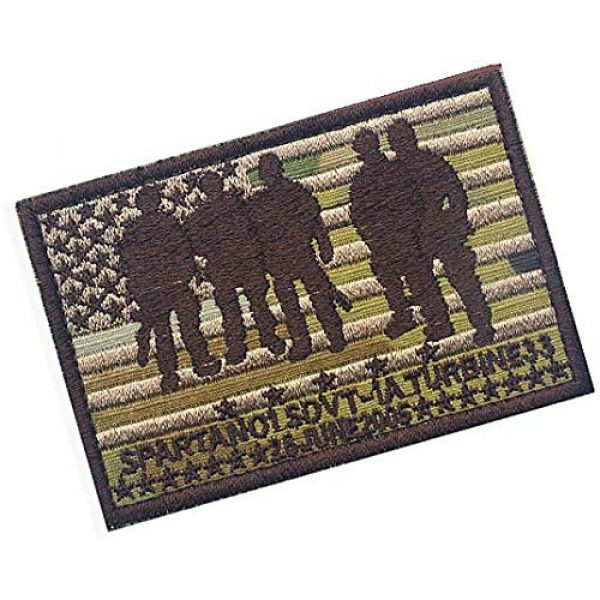 Embroidery Patch Airsoft Morale Patch 2 Seal Team Operation Red Wings Lone Survivor SDVT-1A Spartan 01 Military Hook Loop Tactics Morale Embroidered Patch (color1)