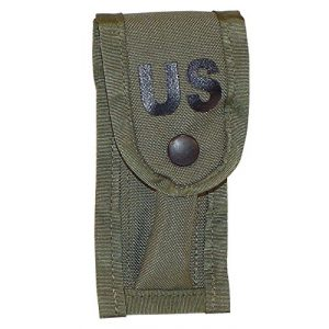 Fire Force Tactical Pouch 1 Fire Force Military 9MM Single Mag Pouch with Alice Keepers NSN: 8465-01-207-5573 Made in USA