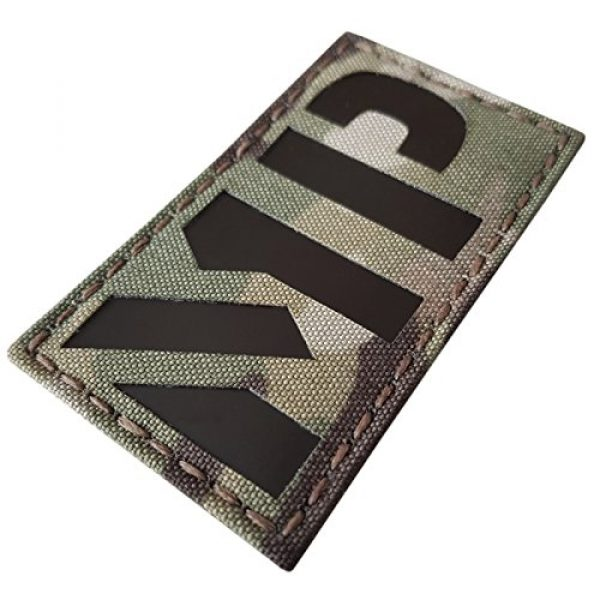 Tactical Freaky Airsoft Morale Patch 5 Multicam Infrared Military MP 3.5x2 Tactical Morale Hook-and-Loop Patch
