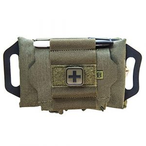HSGI Tactical Pouch 1 High Speed Gear Reflex IFAK System | Roll and Carrier | Medical Supply Holder