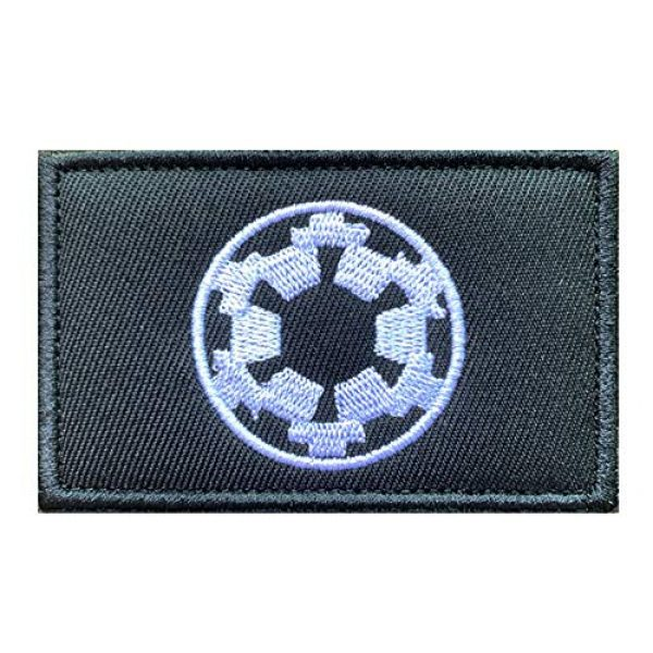 Antrix Airsoft Morale Patch 2 Antrix 6 Pieces Movie Film Galactic Empire UFO Embroidered Tactical Funny Emblem Badge Tags Patches for Kids Boys