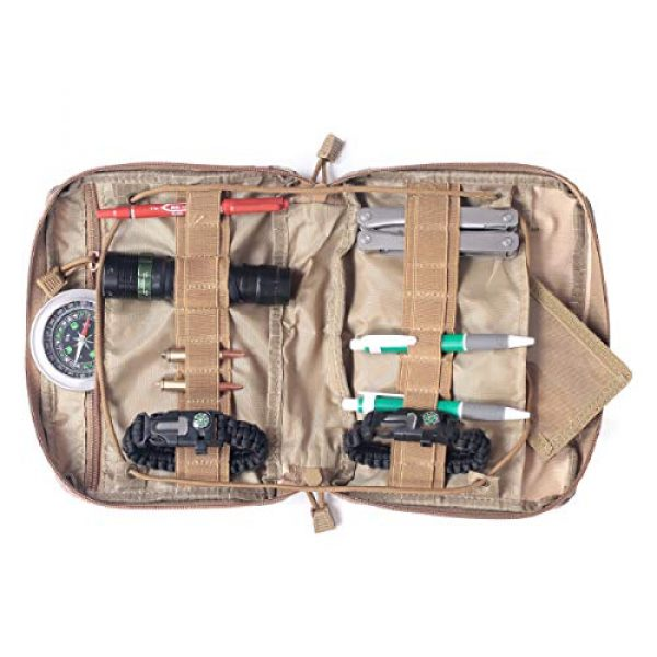 TRIWONDER Tactical Pouch 5 TRIWONDER Tactical Admin Molle Pouch Compact Utility Gadget Gear Tool Bag EDC Pouch Military EMT Organizer